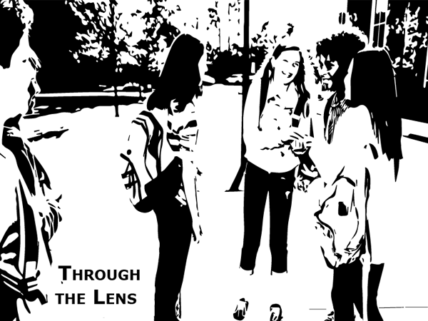 Through the Lens digital poem